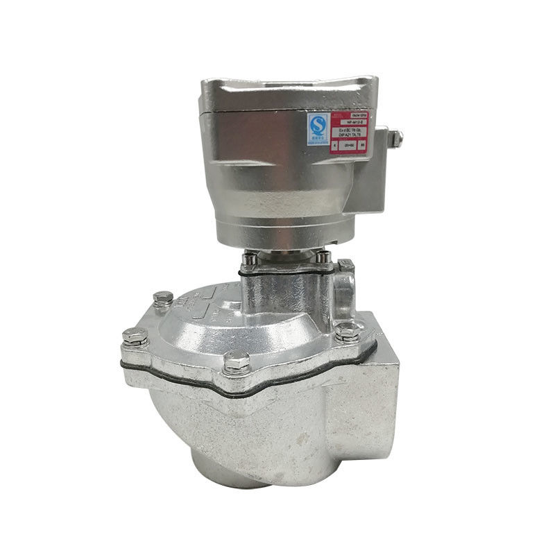 2.5 Inch Pulse Jet Valves Aluminum Body Material With Explosion Proof Coil