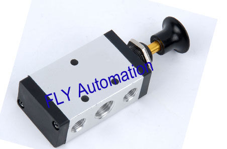 5/2 way Hand Push Pull Pneumatic Manual Valve,4R110-06,4R210-06,08.4R310-08,10.4R410-15